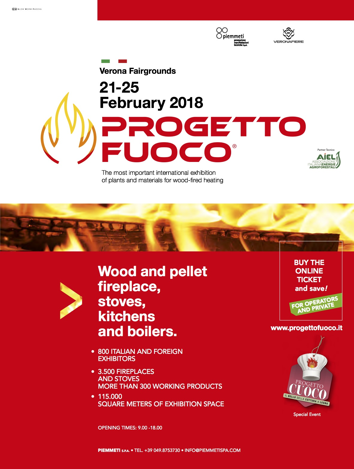 Progetto Fuoco -The most important trade fair in the world